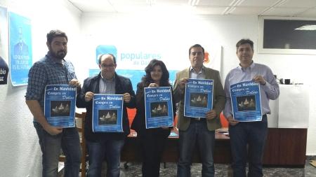 Presentación de la campaña en la sede del partido