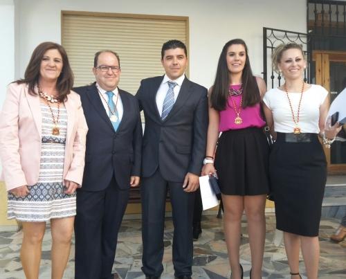 Los 5 concejales del grupo Partido Popular en el Ayuntamiento de Dalías