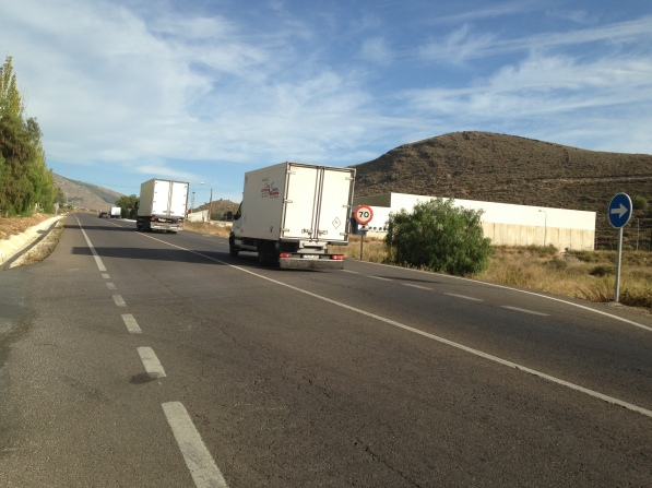 Carretera A-358 Dalías-Berja